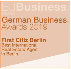 Prize of the best international real estate agent in Berlin - 2019 edition