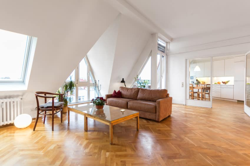 Attic luxury apartment in Berlin