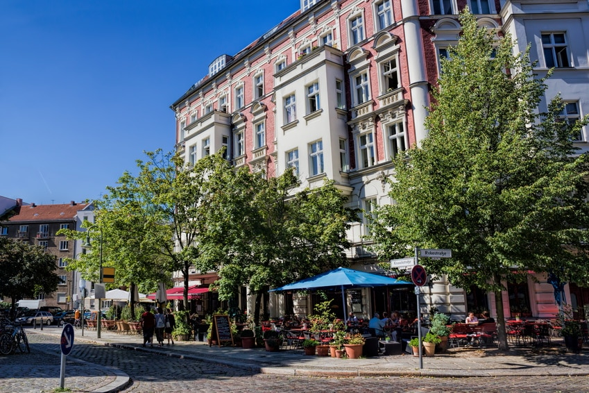 Prenzlauer Berg is ideal for buying an apartment in Est Berlin