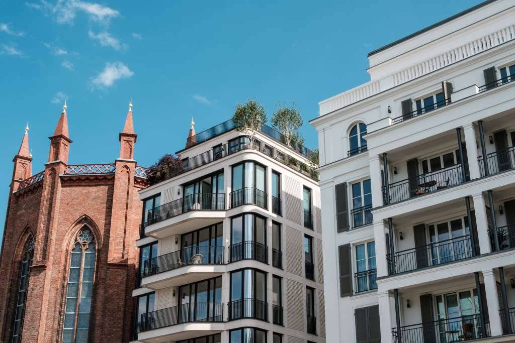 Newly built luxury apartments for sale  in Berlin Mitte