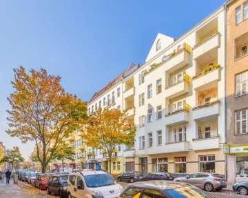 Sold! Vacant 1-room apartment in the Brüsseler Kiez in Wedding, 13353 Berlin, Apartment