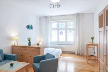 Cozy 1 room apartment in the vibrant Winsviertel area of Prenzlauer Berg, 10405 Berlin, Ground floor apartment