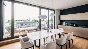 Splendid penthouse with large terrace in Berlin, 10969 Berlin, Penthouse apartment