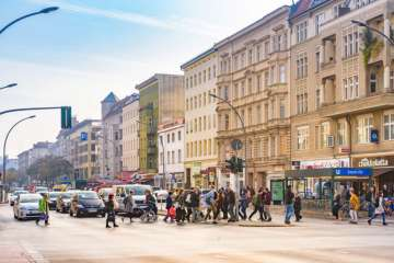 Elegant 1 bedroom investment property in central neighborhood, 13353 Berlin, Apartment for sale