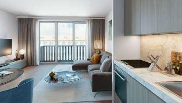 Superbe appartement de 2 chambres à coucher à Berlin Mitte, 10179 Berlin, Appartement