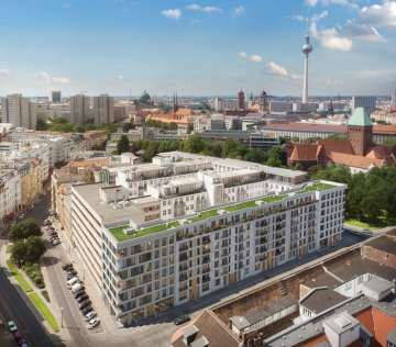 Gorgeous 2-room apartment with a balcony in Berlin Mitte, 10179 Berlin, Apartment for sale