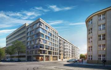 Comfortable apartment in new project in Berlin Mitte, 10179 Berlin, Apartment for sale